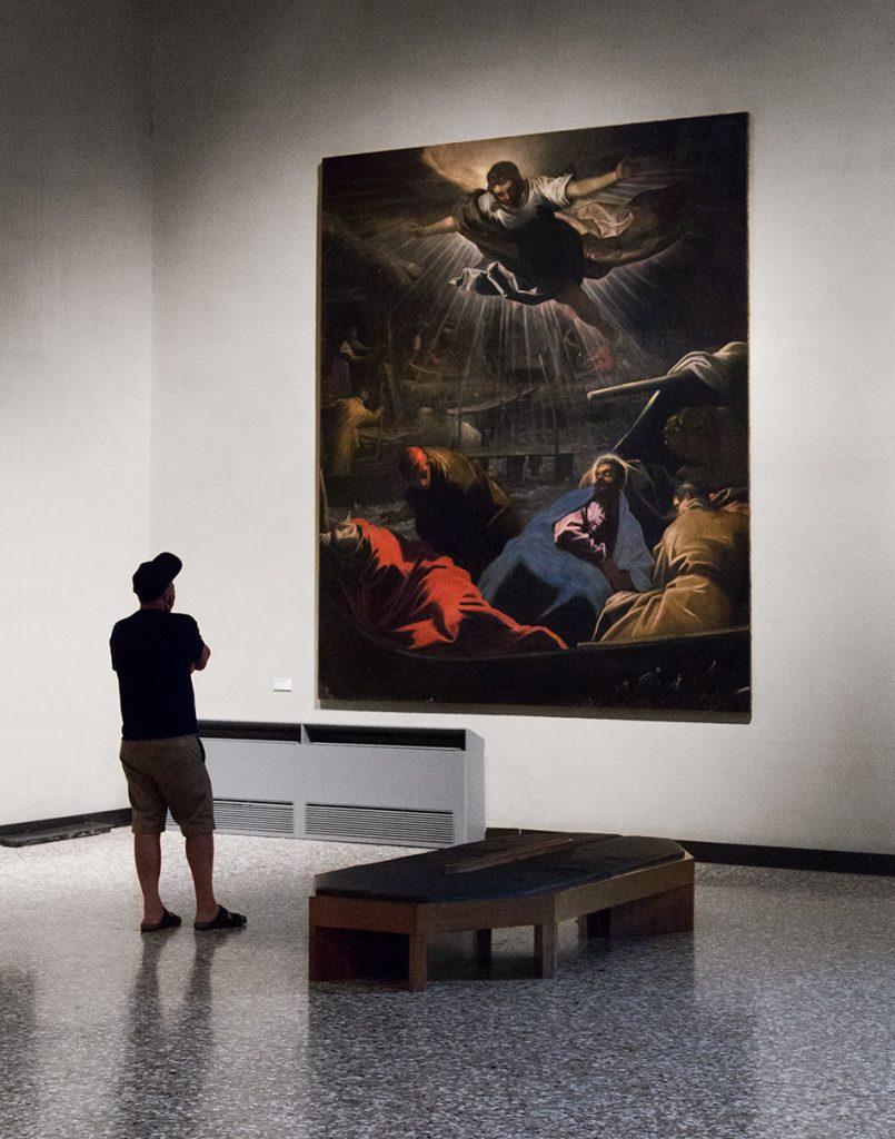 Gallerie dell'Accademia di Venezia, Jacopo Tintoretto, Sogno di san Marco
