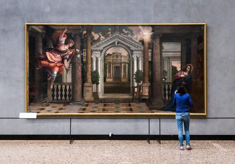 Gallerie dell'Accademia di Venezia, Paolo Veronese, The Annunciation