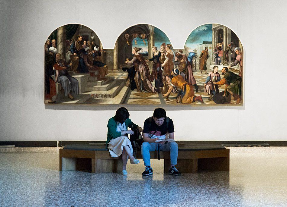 Gallerie dell'Accademia di Venezia, Bonifacio Veronese, Königin von Saba