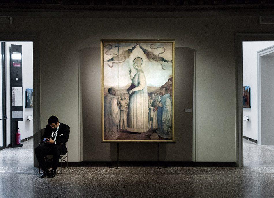 Gallerie dell'Accademia di Venezia, Gentile Bellini, Il Beato Lorenzo Giustiniani