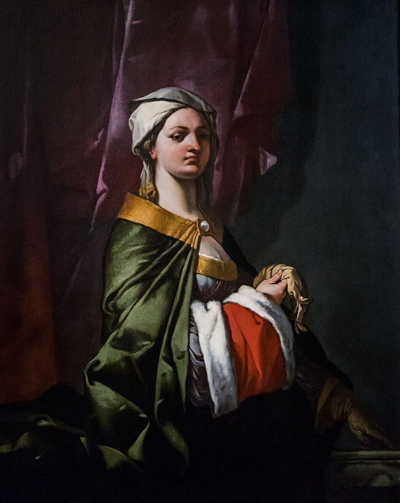 Fabian Fröhlich, Vicenza, Museo civico di Palazzo Chiericati, Giulio Carpioni, Dama con guanto