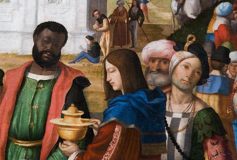 Fabian Fröhlich, Vicenza, Museo civico di Palazzo Chiericati, Marcello Fogolino, , Adorazione dei Magi