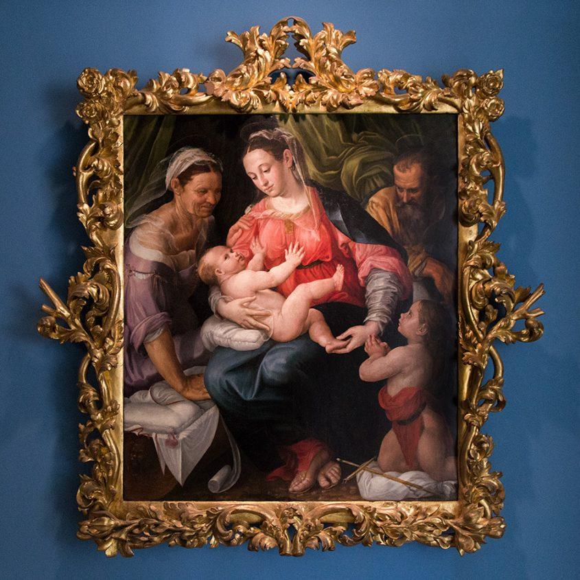Fabian Fröhlich, Vicenza, Museo civico di Palazzo Chiericati, Prospero Fontana, Sacra familia