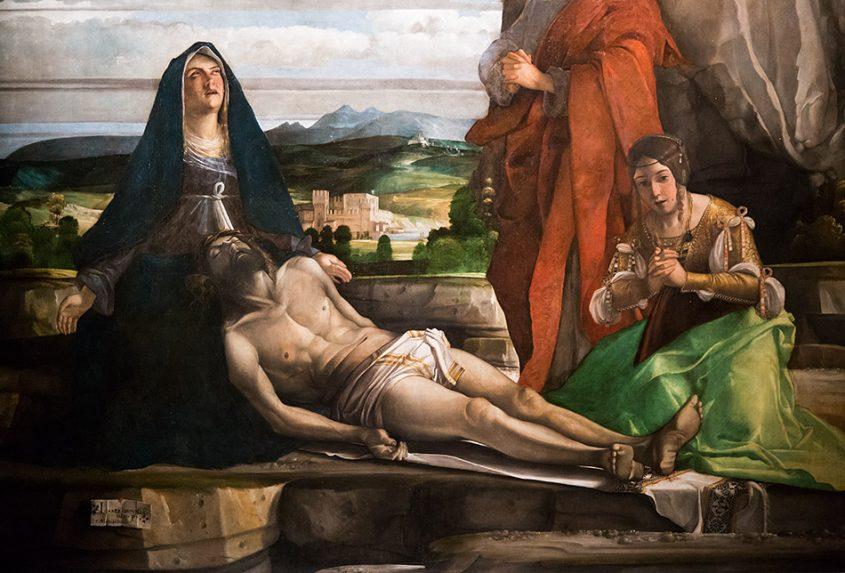 Fabian Fröhlich, Vicenza, Museo civico di Palazzo Chiericati, Giovanni Bonconsiglio, detto Marescalco, Compianto su Cristo morto