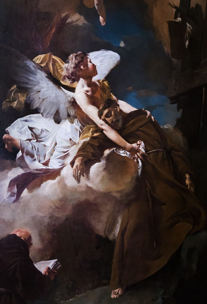 Fabian Fröhlich, Vicenza, Museo civico di Palazzo Chiericati, Giambattista Piazetta, Estasi di San Francesco