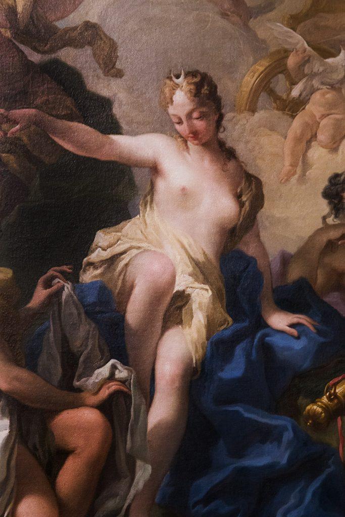Fabian Fröhlich, Vicenza, Museo civico di Palazzo Chiericati, Giambattista Pittoni, Diana and nymphs
