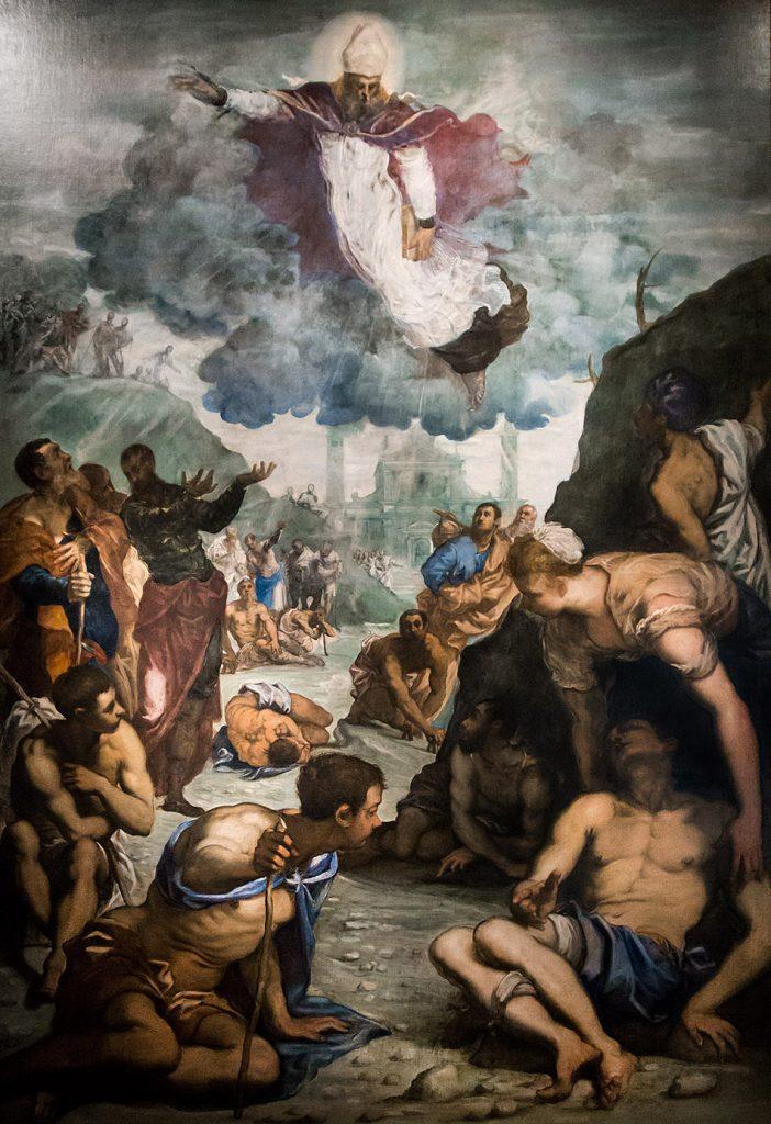 """Fabian Fröhlich, Vicenza, Museo civico di Palazzo Chiericati, Jacopo Robusti, detto Tintoretto """"Sant'Agostino risana gli sciancati"""""""