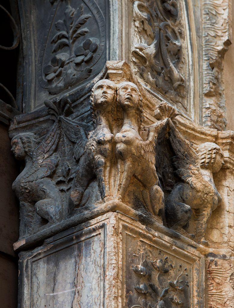 Fabian Fröhlich, Vicenza, Palazzo Porto Breganze. Sphinxes