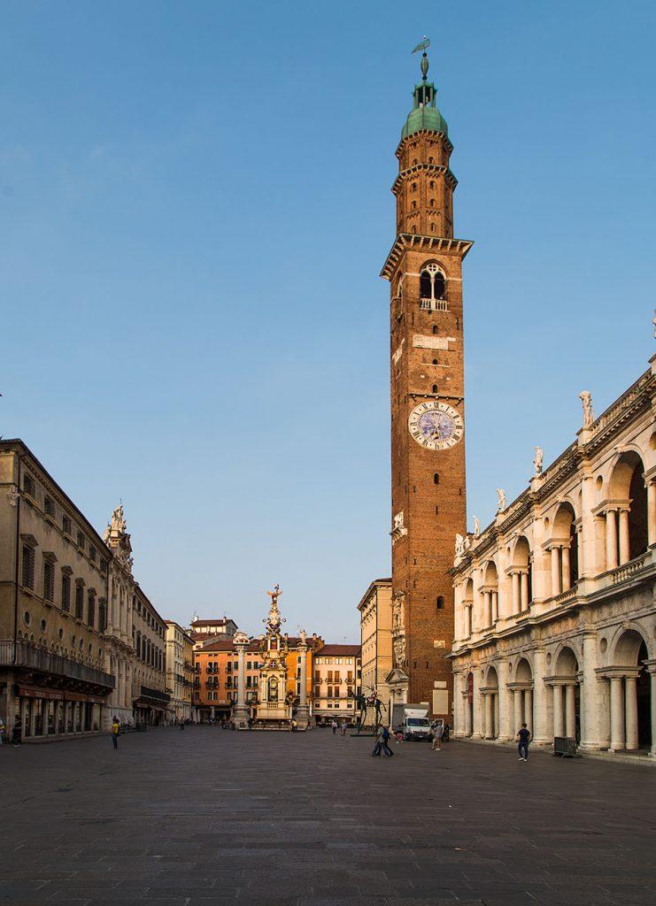 Fabian Fröhlich, Vicenza, Piazza dei Signori with Torre Bissara