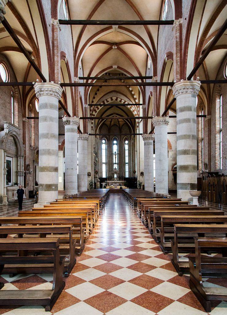 Fabian Fröhlich, Vicenza, Chiesa di san Lorenzo