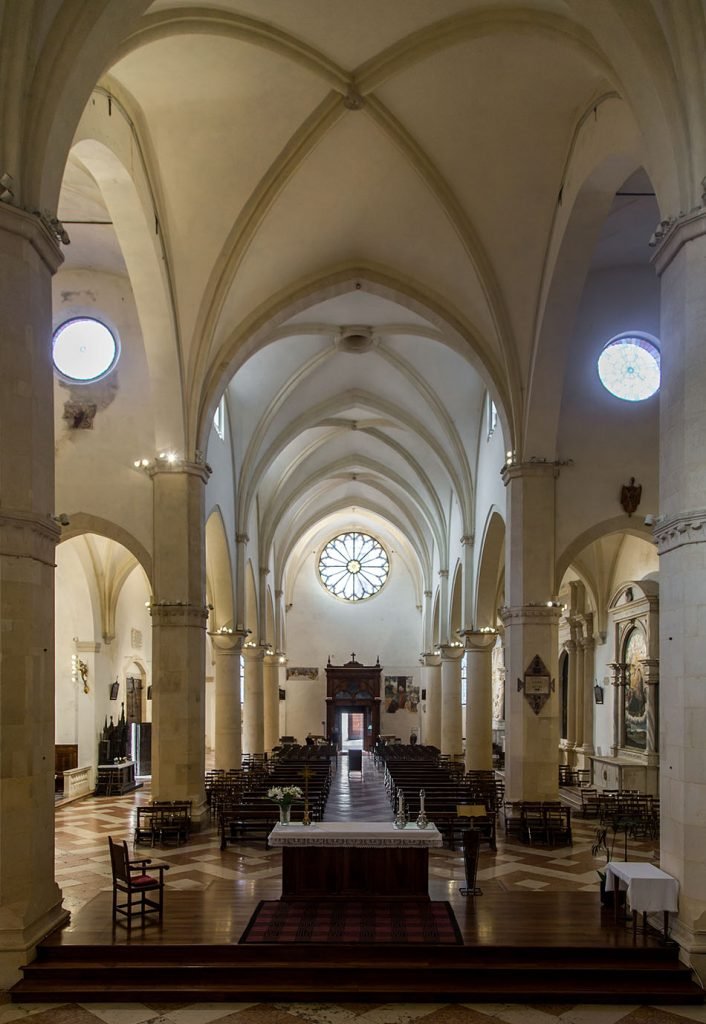 Fabian Fröhlich, Vicenza, Chiesa di Santa Corona, Nave