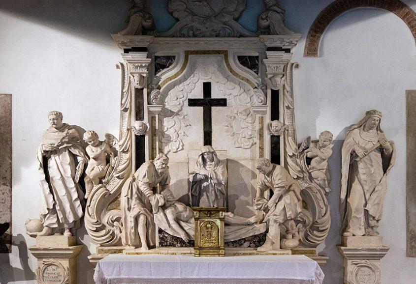 Fabian Fröhlich, Vicenza, Chiesa di Santa Corona, Sala del Capitolo, Altar by Giovanni Calvi