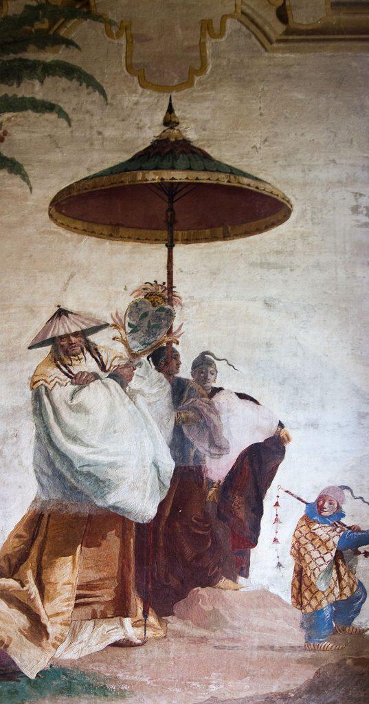 Fabian Fröhlich, Vicenza, Villa Valmarana ai Nani, Foresteria, Sala delle Cineserie (Fresco by Giandomenico Tiepolo)