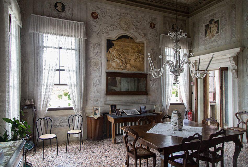 Fabian Fröhlich, Vicenza, Villa Valmarana ai Nani, Sala dell'Eneide