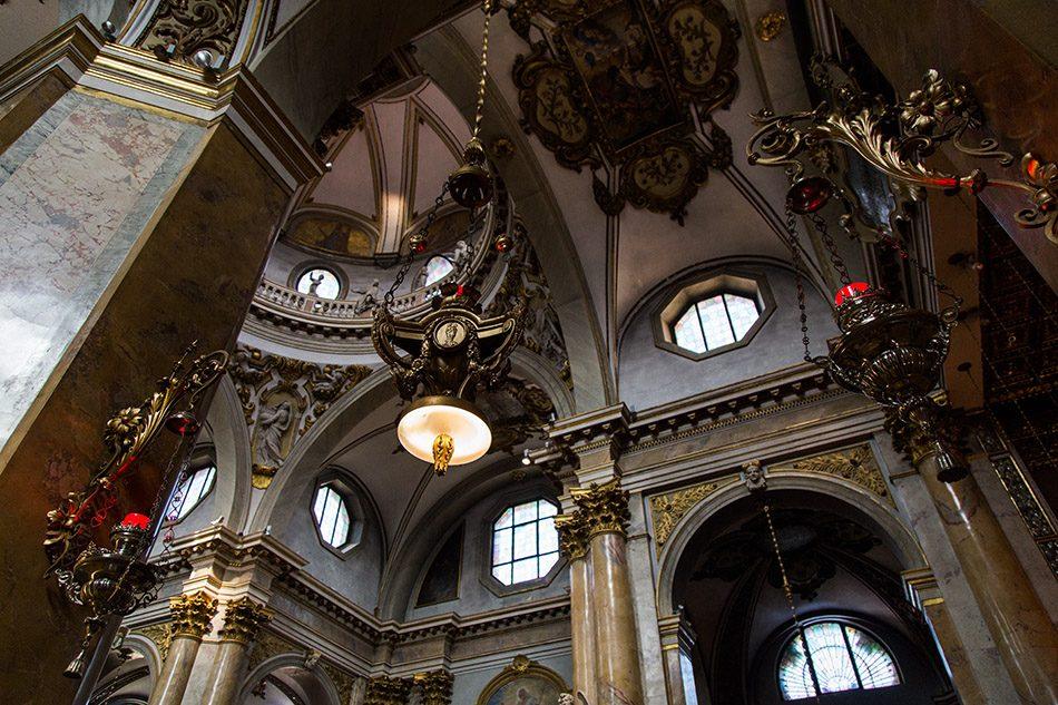 Fabian Fröhlich, Vicenza, Interior of Santuario della Madonna di Monte Berico