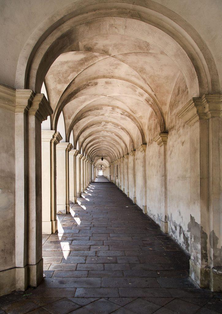 Fabian Fröhlich, Vicenza, Arcades of Monte Berico