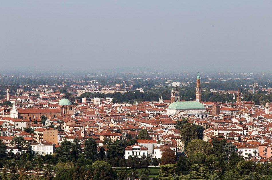 Fabian Fröhlich, Vicenza, View from Piazza della Victoria