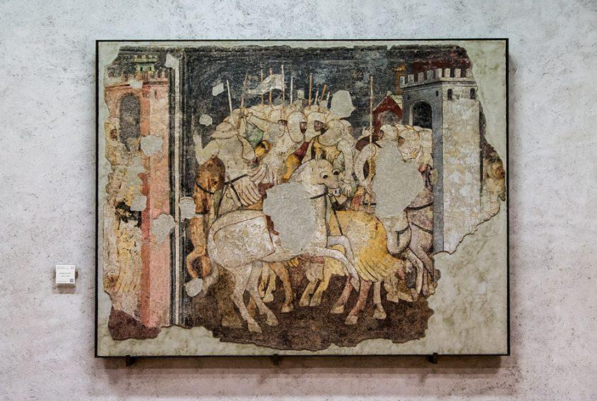 Fabian Fröhlich, Museo di Castelvecchio, Battaglia di cavalieri