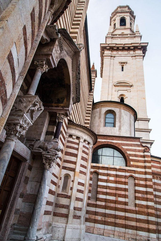 Fabian Fröhlich, Verona, Duomo, South portal