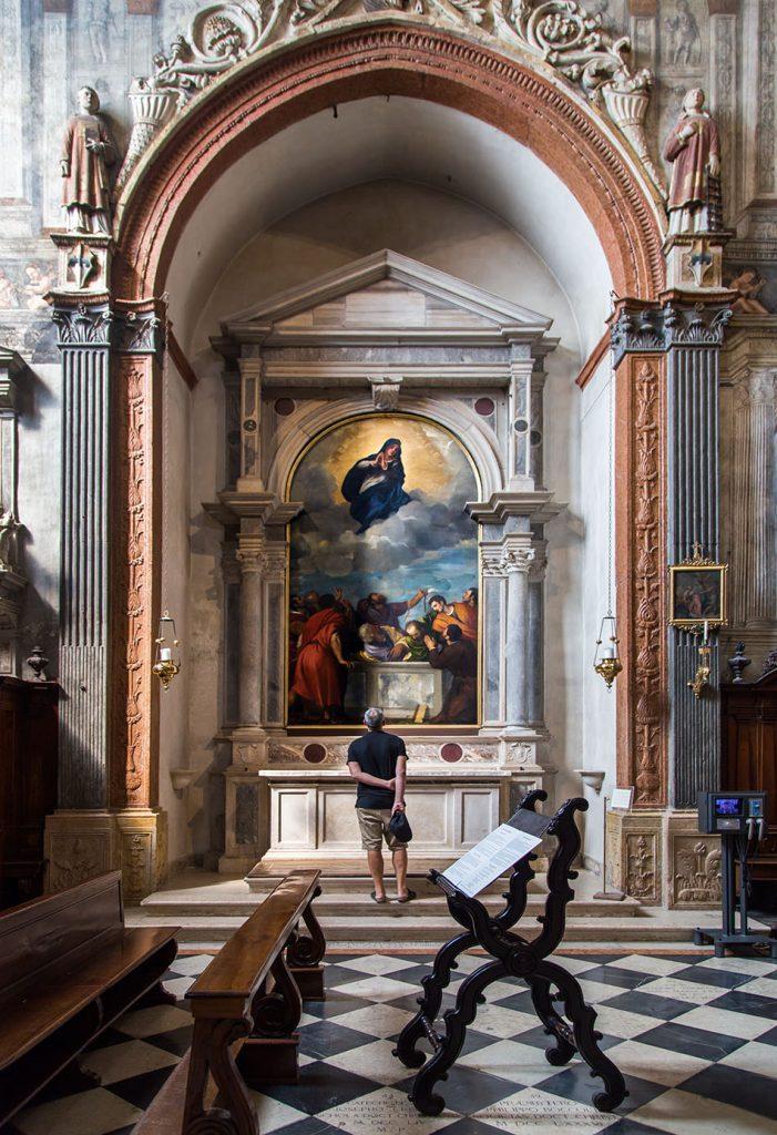 Fabian Fröhlich, Verona, Duomo, Tiziano