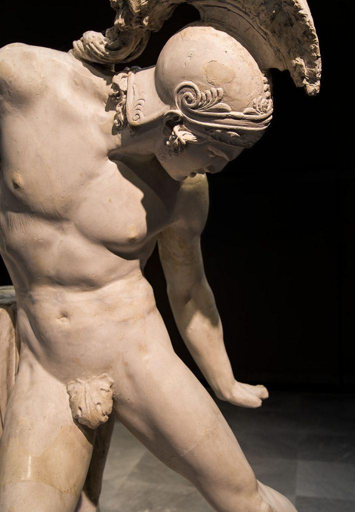 Fabian Fröhlich, Verona, Galleria d'Arte Moderna Achille Forti, Innocenzo Fraccaroli, Wounded Achill