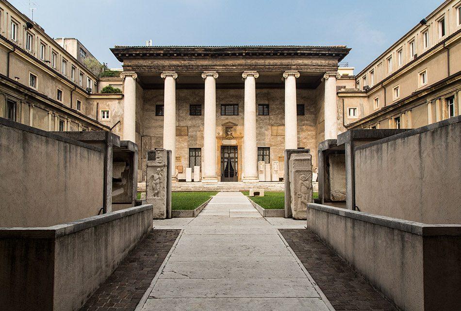 Fabian Fröhlich, Verona, Museo Lapidario Maffeiano