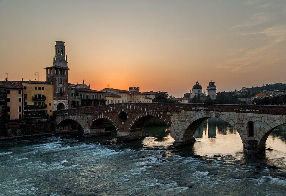 Fabian Fröhlich, Verona, Ponte Pietra