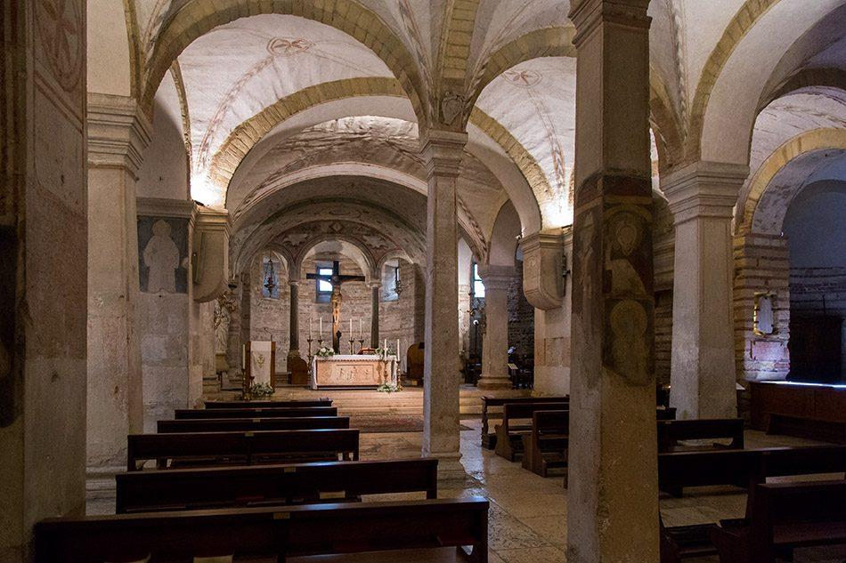 Fabian Fröhlich, Verona, Chiesa San Fermo Maggiore, crypt