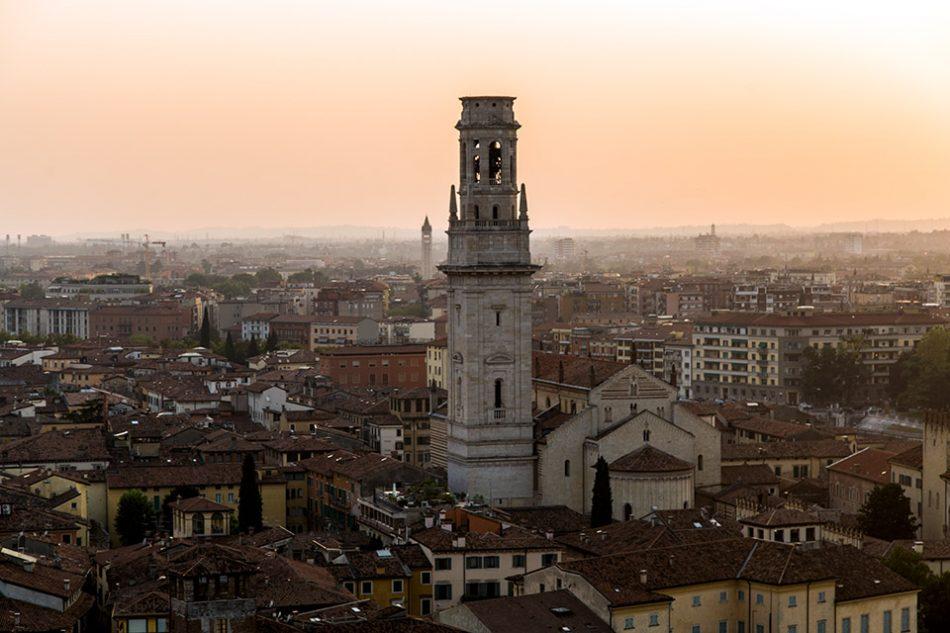 Fabian Fröhlich, Verona, View from Castel S. Pietro