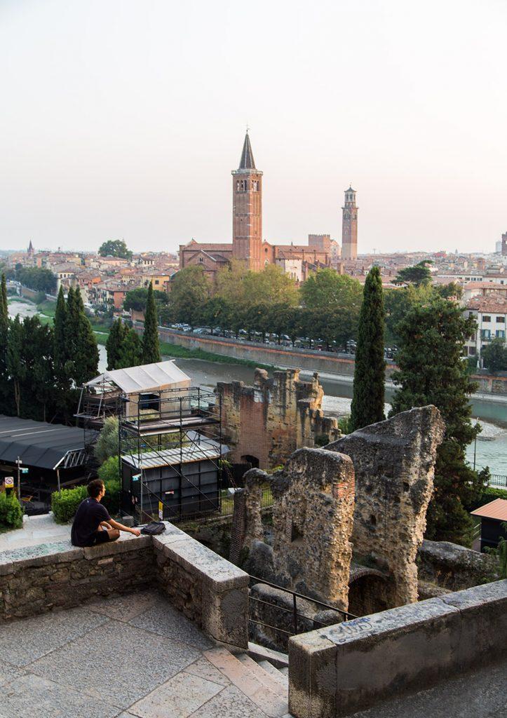 Fabian Fröhlich, Verona, Piazza del Foro