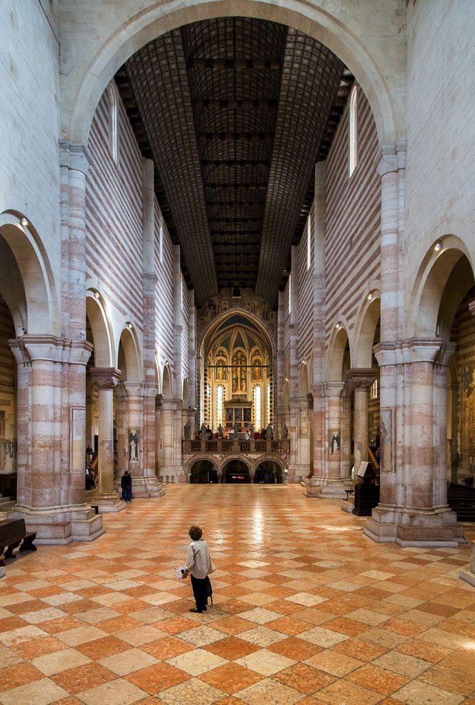 Fabian Fröhlich, Verona, Basilica di San Zeno Maggiore
