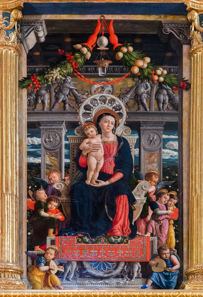 Fabian Fröhlich, Verona, Basilica di San Zeno Maggiore, San Zeno Altarpiece by Andrea Mantegna (Madonna with the Child)
