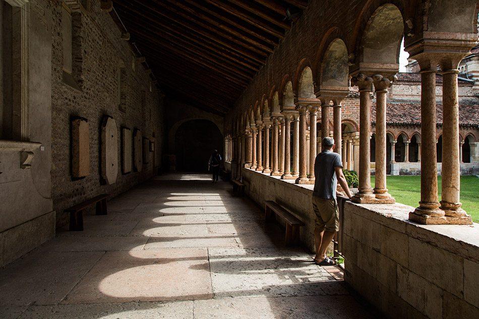 Fabian Fröhlich, Verona, Basilica di San Zeno Maggiore, Cloister