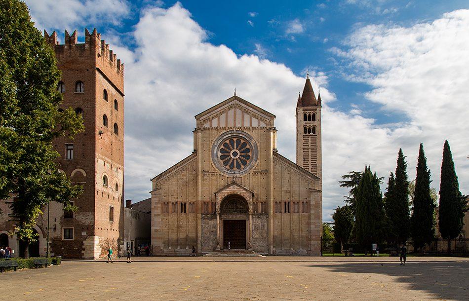 Fabian Fröhlich, Verona, Basilica di San Zeno Maggiore,