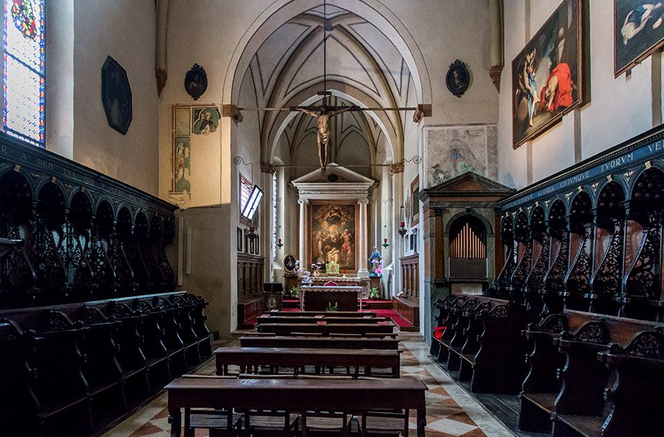 Fabian Fröhlich, Verona, Basilica di Sant'Anastasia, Cappella Giusti