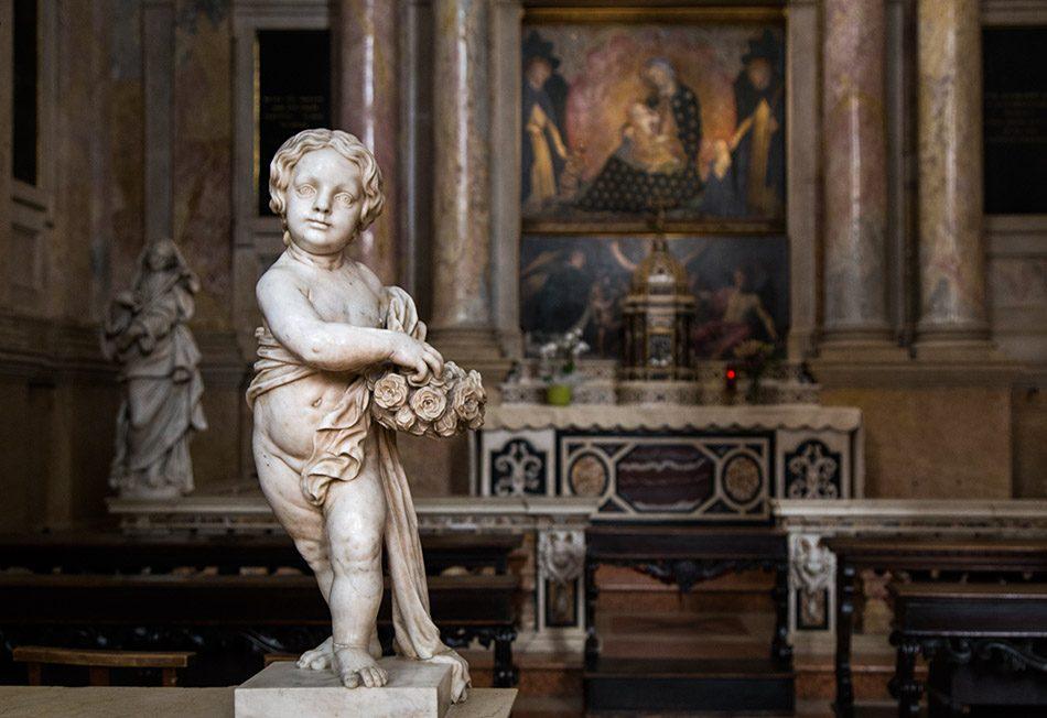 Fabian Fröhlich, Verona, Basilica di Sant'Anastasia, Cappella del Rosario
