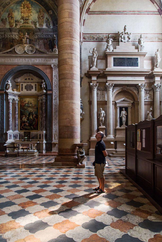 Fabian Fröhlich, Verona, Basilica di Sant'Anastasia, Cappella Manzini and Altare Fregoso