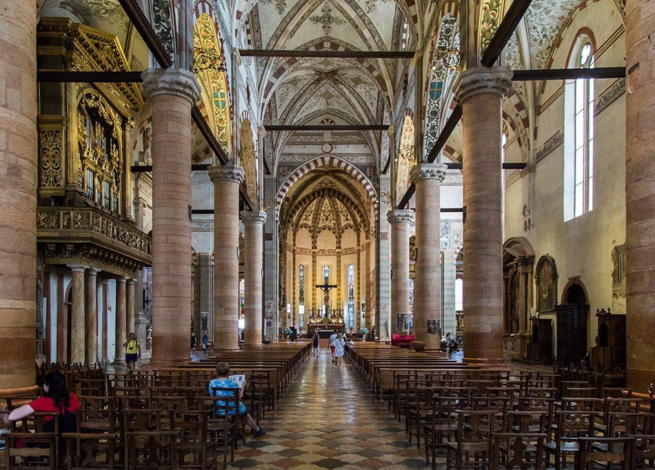 Fabian Fröhlich, Verona, Basilica di Sant'Anastasia