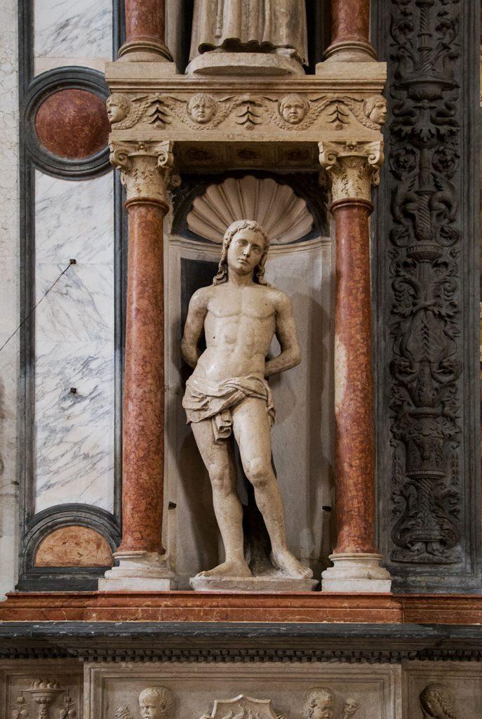 Fabian Fröhlich, Verona, Basilica di Sant'Anastasia, Cappella Miniscalchi
