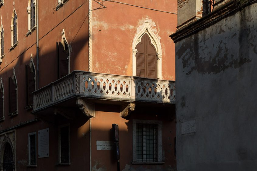 Fabian Fröhlich, Verona, Via Gian Battista Malenza
