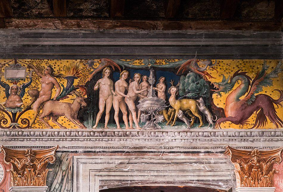 Fabian Fröhlich, Mantova, Palazzo D'Arco, Sala dello Zodiaco
