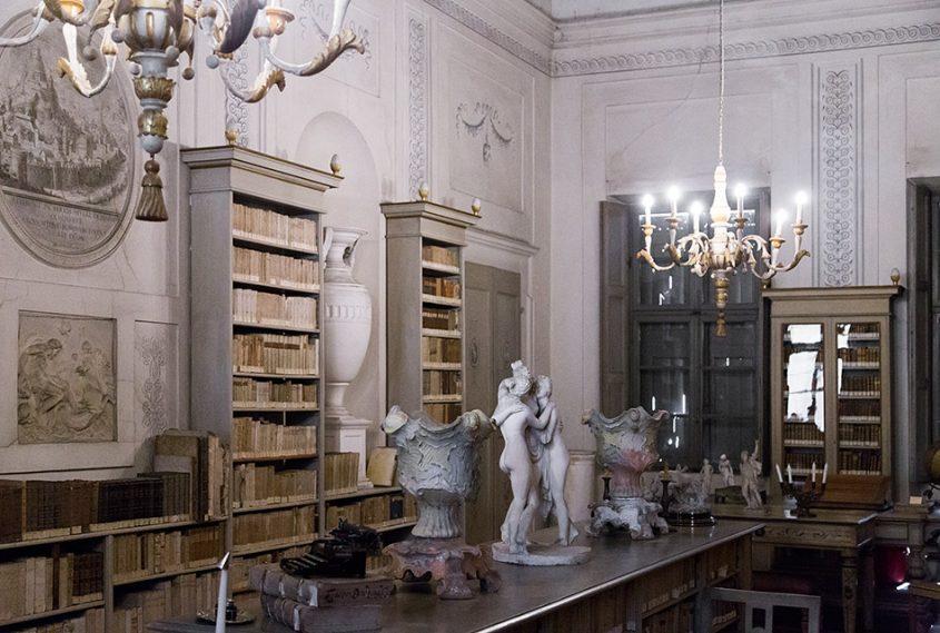 Fabian Fröhlich, Mantova, Palazzo D'Arco, Biblioteca