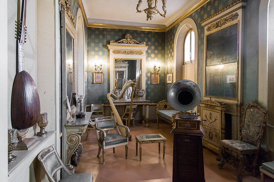 Fabian Fröhlich, Mantova, Palazzo D'Arco, Sala della Musica