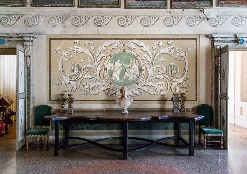 Fabian Fröhlich, Mantova, Palazzo D'Arco, Sala degli Antenati