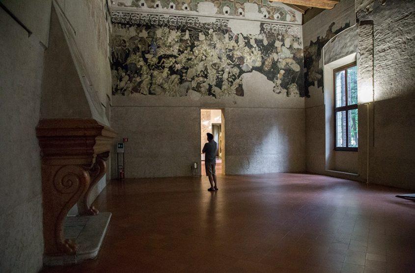 Fabian Fröhlich, Mantova, Palazzo Ducale, Corte Vecchia, Sala die Pisanello