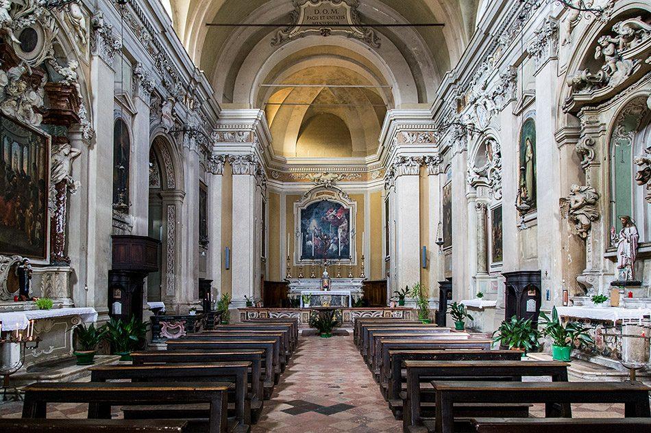 Fabian Fröhlich, Mantova, Chiesa di San Martino