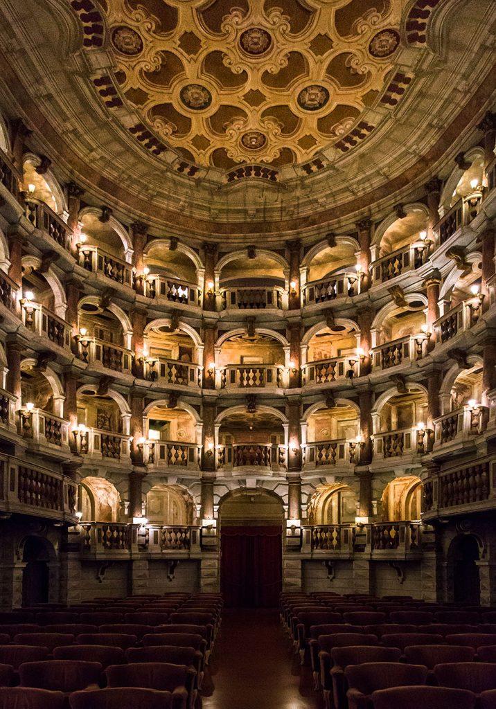 Fabian Fröhlich, Mantova, Teatro Bibiena
