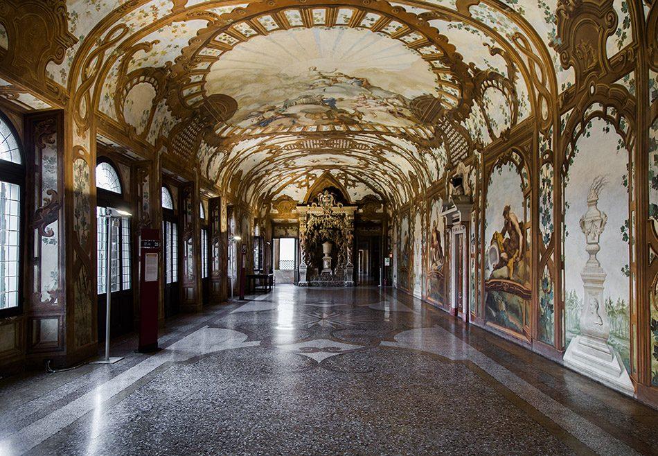 Fabian Fröhlich, Mantova, Palazzo Ducale, Galleria dei Fiumi