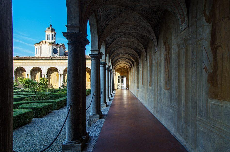 Fabian Fröhlich, Mantova, Palazzo Ducale, Giardino pensile