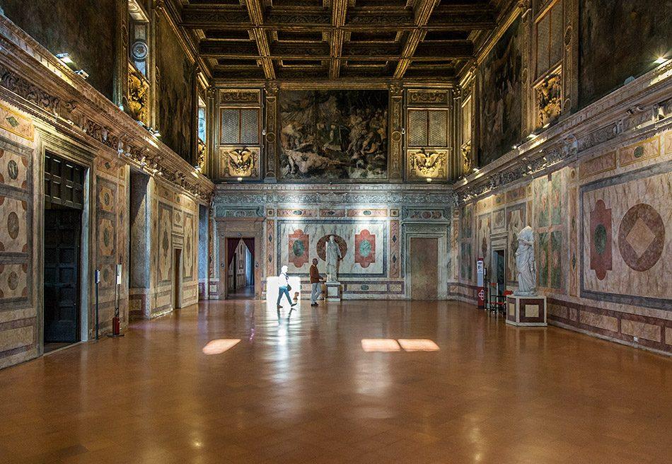 Fabian Fröhlich, Mantova, Palazzo Ducale, Corte Nuoava, Sala die Manto